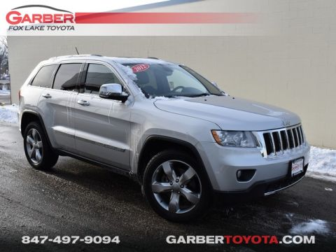 Pre-Owned 2012 Jeep Grand Cherokee Limited 4WD