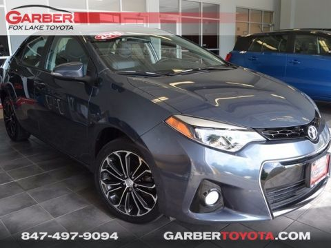 Certified Pre-Owned 2015 Toyota Corolla S Plus FWD 4D Sedan
