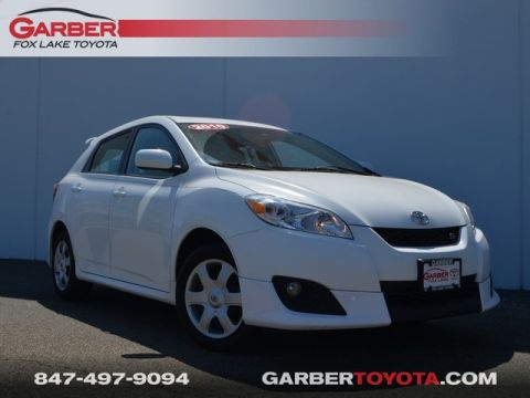 Pre-Owned 2010 Toyota Matrix S