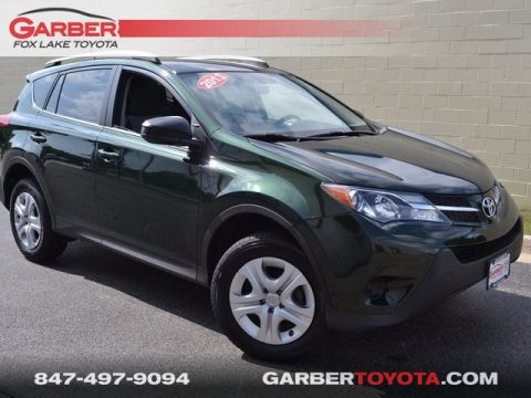 Pre-Owned 2013 Toyota RAV4 LE FWD 4D Sport Utility