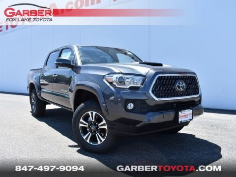 New 2018 Toyota Tacoma TRD Sport 4D Double Cab