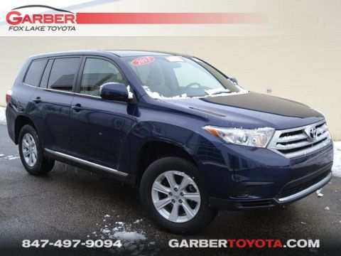 Certified Pre-Owned 2013 Toyota Highlander SE AWD