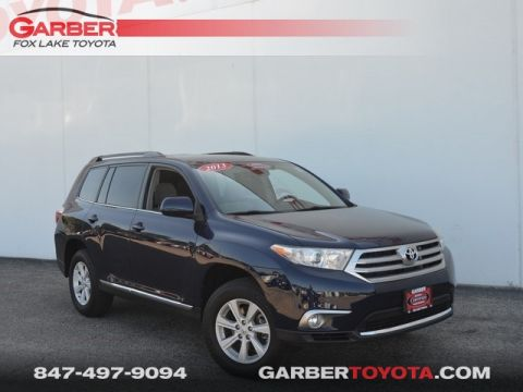 Certified Pre-Owned 2013 Toyota Highlander Base Plus V6 AWD