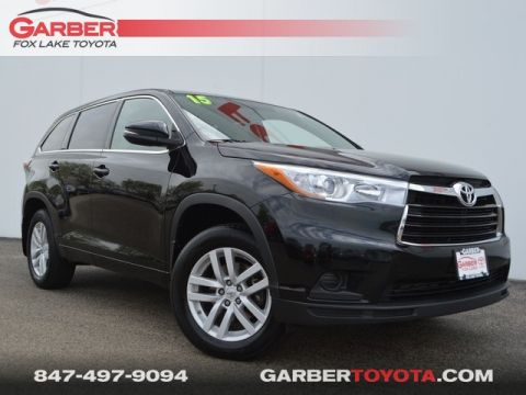 Pre-Owned 2015 Toyota Highlander LE V6 AWD