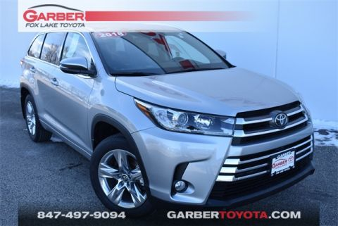 Certified Pre-Owned 2018 Toyota Highlander Limited AWD