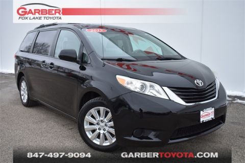 Pre-Owned 2012 Toyota Sienna LE AWD