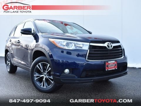 Certified Pre-Owned 2016 Toyota Highlander XLE V6 AWD