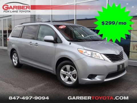 Pre-Owned 2014 Toyota Sienna LE FWD 4D Passenger Van