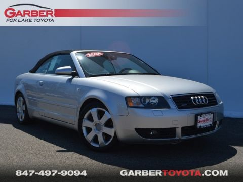 Pre-Owned 2006 Audi A4 3.0 Cabriolet