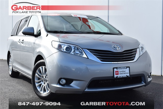 Certified Pre-Owned 2014 Toyota Sienna XLE