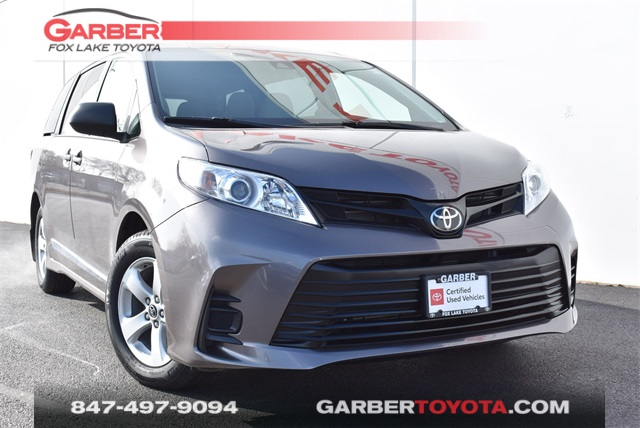 Pre-Owned 2019 Toyota Sienna L