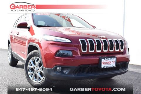Pre-Owned 2017 Jeep Cherokee Latitude 4 door