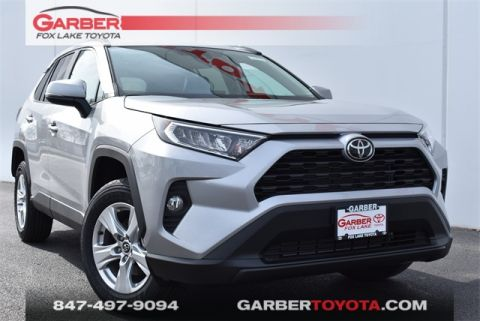 New 2020 Toyota RAV4 XLE 4 door