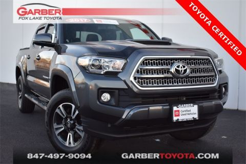 Certified Pre-Owned 2017 Toyota Tacoma 4WD 4D Double Cab