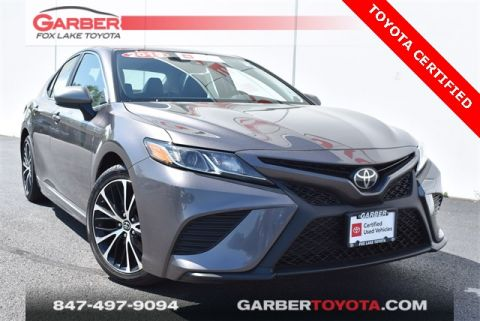 Certified Pre-Owned 2019 Toyota Camry SE 4 door