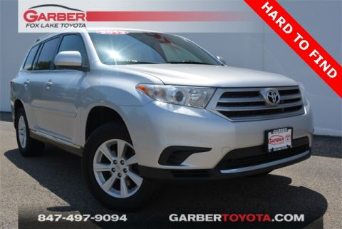 Pre-Owned 2013 Toyota Highlander Base Plus V6 AWD