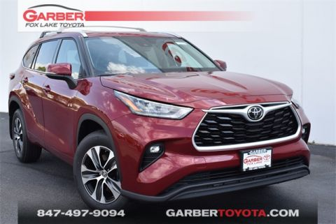 New 2020 Toyota Highlander XLE 4 door