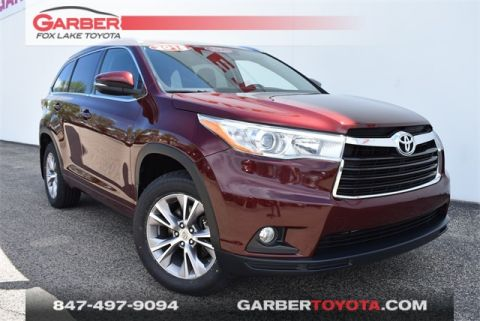 Pre-Owned 2015 Toyota Highlander XLE V6 With Navigation & AWD