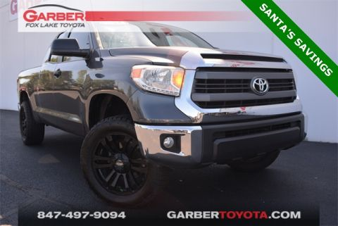 Certified Pre-Owned 2014 Toyota Tundra SR5 DBL CAB 5.7 LTR V8
