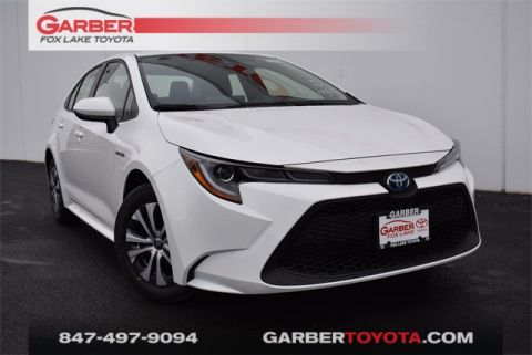 New 2020 Toyota Corolla Hybrid LE 4 door