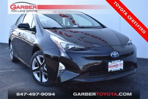 Certified Pre-Owned 2017 Toyota Prius Three Touring 4 door