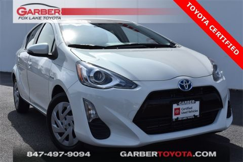 Certified Pre-Owned 2016 Toyota Prius c Two