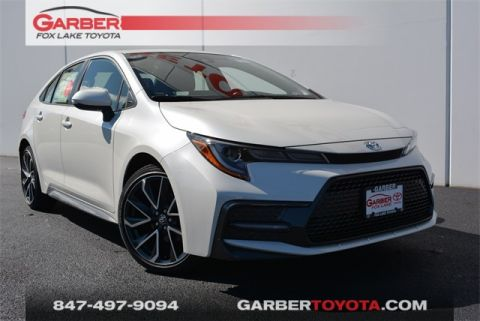 New 2020 Toyota Corolla SE 4 door