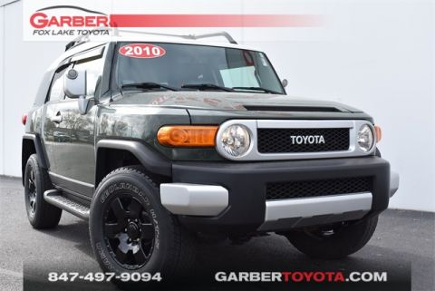 Pre-Owned 2010 Toyota FJ Cruiser 4X4, UPGRADE PKG 2 4 door