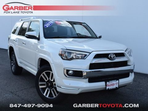 New 2019 Toyota 4Runner Limited 4WD