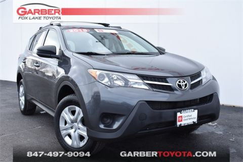 Certified Pre-Owned 2015 Toyota RAV4 AWD 4D Sport Utility