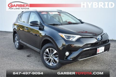 Certified Pre-Owned 2016 Toyota RAV4 Hybrid XLE AWD