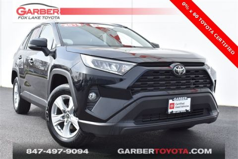 Certified Pre-Owned 2019 Toyota RAV4 XLE 4 door