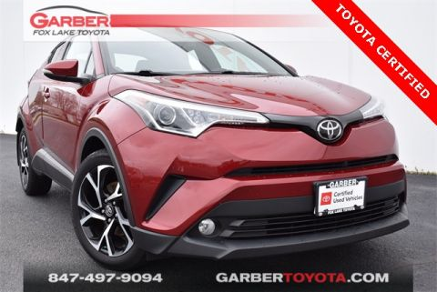 Certified Pre-Owned 2018 Toyota C-HR XLE Premium 4 door